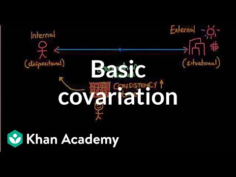 Attribution Theory - Basic covariation