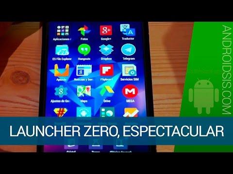 Zero: Espectacular Launcher gratuito para Android