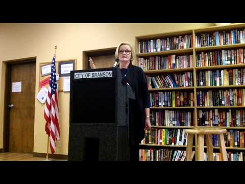 Senator Claire McCaskill endorses medical marijuana at Branson town hall