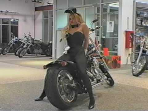 Playboy Bunny & Harley Chopper Video