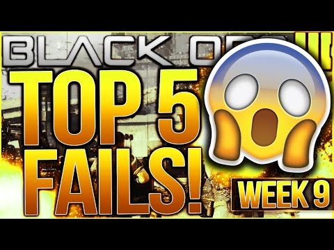 Call of Duty Black Ops 3 - Top 5 FAILS of the Week #9 - CRAZY G.I. UNIT GLITCH! (BO3 Top 5 Fails)