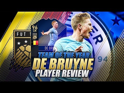 FIFA 18 TOTY 96 DE BRUYNE PLAYER REVIEW - BEST CAM / CM IN FIFA 18 ULTIMATE TEAM !!!!