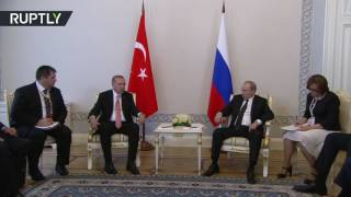 Putin: All want dialogue & relations restored in interests of Turkish & Russian people