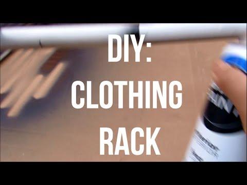 Diy Pipe Clothing Rack ▶ Diy Pvc Clothing Rack