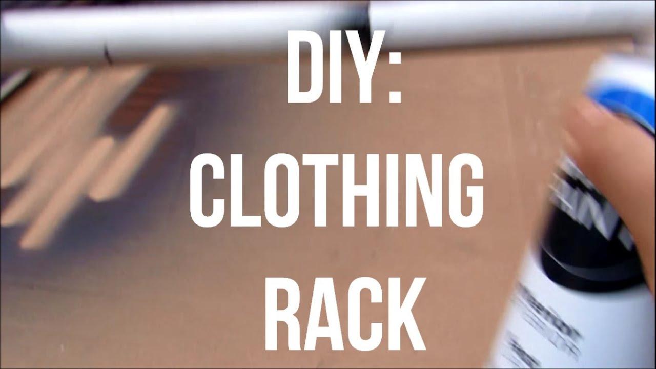 Diy Pipe Clothing Rack Diy Pvc Clothing Rack