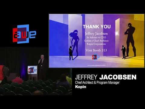 Jeff Jacobsen (Kopin): Designing AR Apps with a Smarter UI