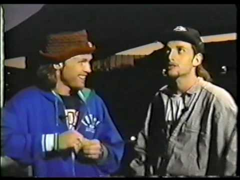 Pearl Jam - Jeff Ament and Stone Gossard Interview pt5 (Mt View, 1992)