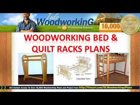 Amish Quilt Rack Plans