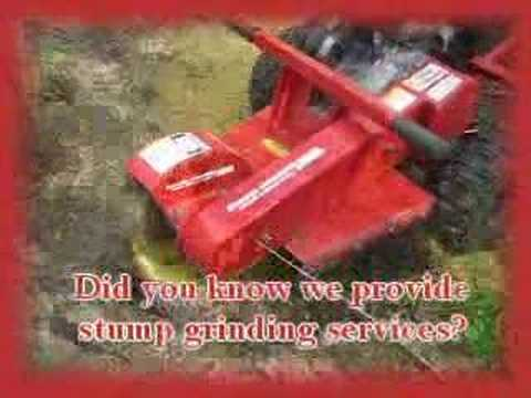 Stump Grinding Promo Video for Lawn or Tree Care Websites