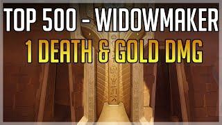 [Top 500 NA] Widowmaker - 1 Death & Gold Damage