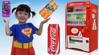 Trò Chơi Máy Bán Nước Ngọt Tự Động – Auto Vending Machine ❤ AnAn ToysReview TV ❤