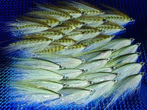 Saltwater Fly Tying Patterns Tying a Saltwater Fly by Davie