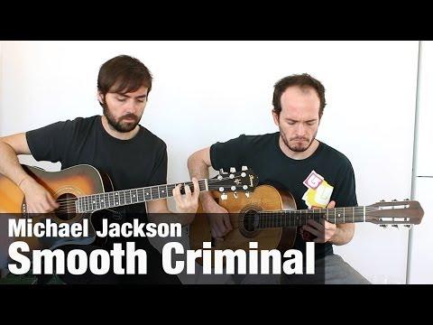 Michael Jackson - Smooth Criminal - Cómo Tocar Guitarra Púa video