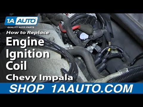How To Replace Install Engine Ignition Coil 2006-12 Chevy Impala 3.5L