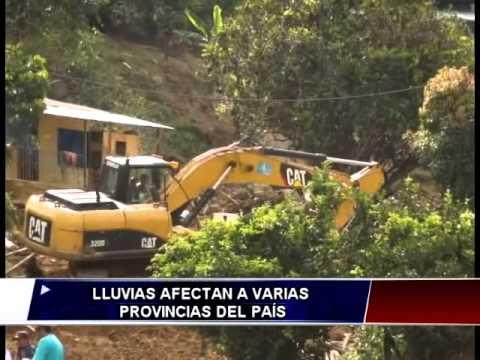 Fuerte temporal afecta a varias zonas del país