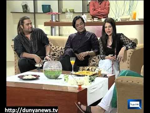 Dunya News-20-08-2012-Eid Mubarak Pakistan with Mahmood Aslam & Hina Dilpazer