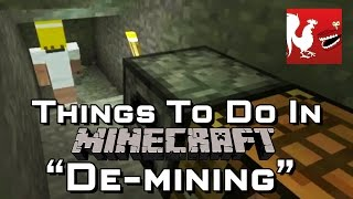 Things to do in_ Minecraft - De-mining