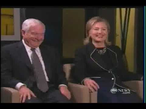 SECY OF STATE CLINTON & SECY OF DEFENSE GATES -