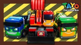 Tayo truck needs your help! Go Save Tayo! l Tayo Heavy Vehicles Squad l Tayo the little bus