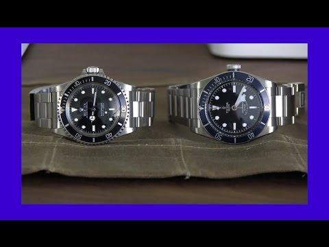 Watch Porn- Rolex Submariner 5513 Vs Tudor Black Bay video
