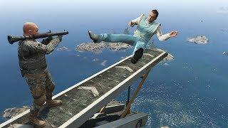 GTA 5 CRAZY Falls/Jumps Compilation #24 (Grand Theft Auto V ragdolls)