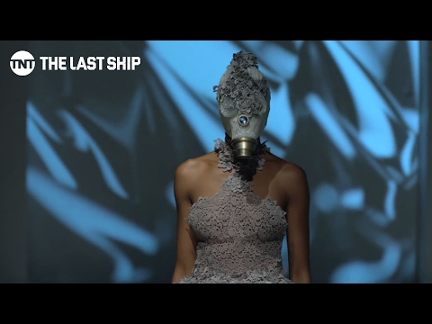 Irene Luft - Gas Mask Gallery | The Last Ship | TNT