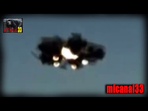 inpactante video de OVNIS UFO reales ovnis