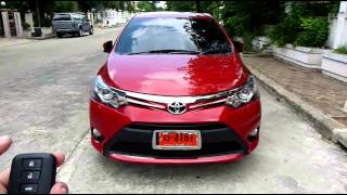 Po-40 : Remote Control Auto Side Mirror : Toyota All New Vios 2013 Thailand