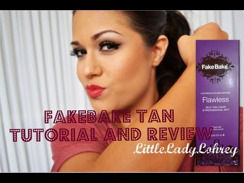 Fake Bake Flawless Tan ~ Review and Demo