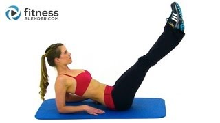 Fitness Blender Fast Abs - 8 Minute Abs Workout