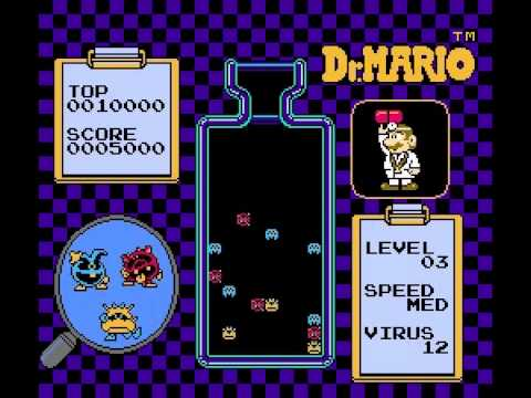 Dr. Mario - Dr Mario (NES) - Highscore Run - User video