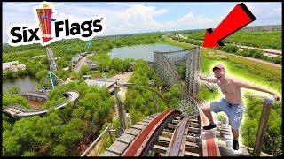 (We Got Caught..) EXPLORING ABANDONED SIX FLAGS
