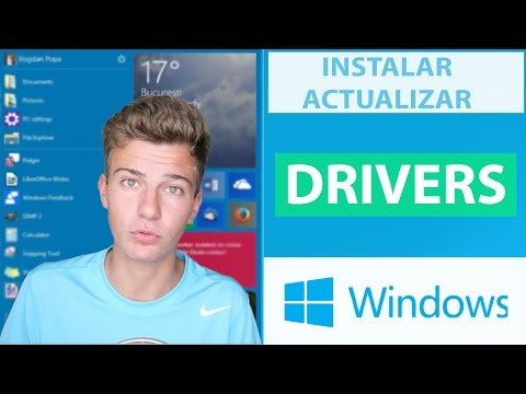 DESCARGAR y ACTUALIZAR DRIVERS en WINDOWS 10 & 8 & 7   2016-2017