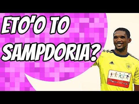 Sampdoria closing in on Samuel Eto'o
