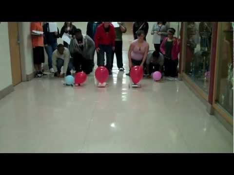 Liberty High School Balloon Powered Race Car Challenge