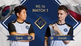 [GSL vs. the World 2019] Ro.16 Match1 Dark vs Elazer