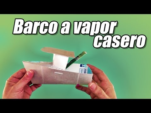 Barco a vapor casero o pop pop boat, cmo se hace