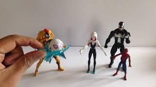 Informando Toy  La Review: Spider Gwen de Spider man Into the Spider verse de Hasbro