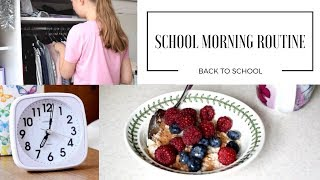 SCHOOL MORNING ROUTINE   Back to School