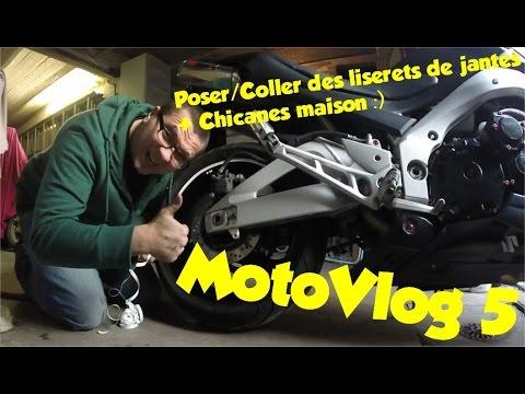 MotoVlog #5 De la chicane maison, des liserets et une petite fille