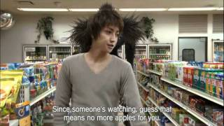 Funny Scene From Death Note movie