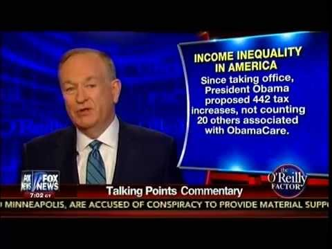 Income Inequality In America - O'Reilly Talking Points