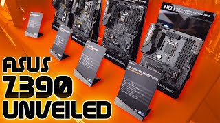 ASUS Z390 Full Range First Look - The GENE Is Back!