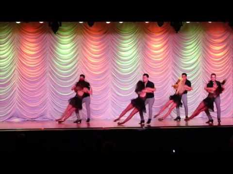 DF Dance Company Semi-Pro Bachata - Reno Latin Dance Fest 2015