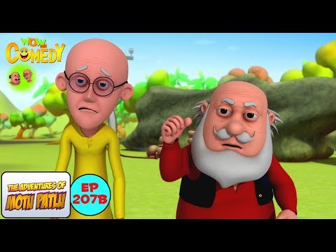 Bold Se Old Laser Pen - Motu Patlu in Hindi - 3D Animated cartoon series for kids - As on Nick thumbnail