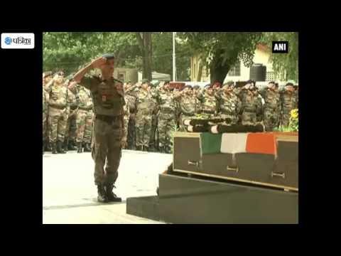 Indian Army Pays Tribute to Kupwara Encounter Martyr