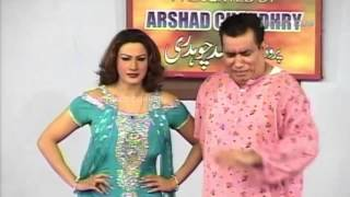 Best of Saima Khan and Nasir Chinyuti Stage Drama Full Comedy Clip