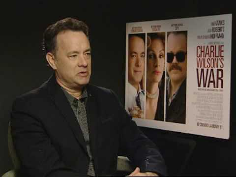 Tom Hanks discusses Charlie Wilson's War