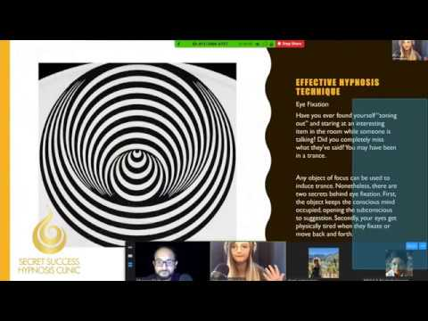 Hypnotizing a Group with Eye Fixation
