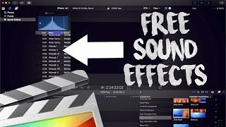 How To Install Sound Effects Final Cut Pro X 10 4